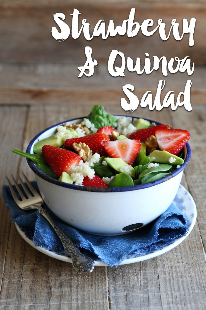 Strawberry, Quinoa & Spinach Salad | Organic and Quality Foods