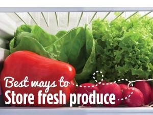 Best Ways to Store Fresh Produce