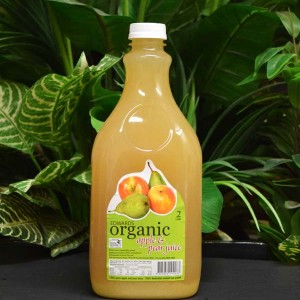 ORG Edwards Organic Apple and Pear Juice 2lt