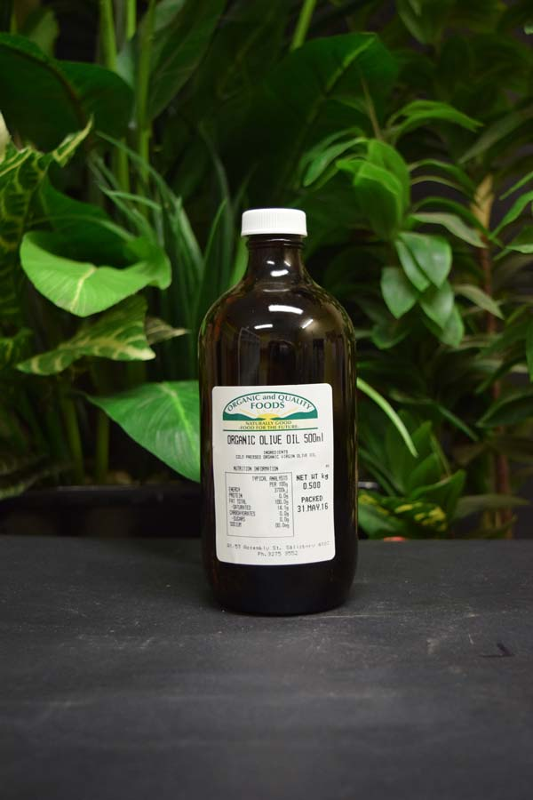 ORG Extra Virgin Cold Pressed Olive Oil 500ml