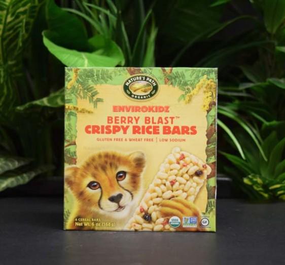 OOS Berry Blast Crispy Rice Bars (6) 168g