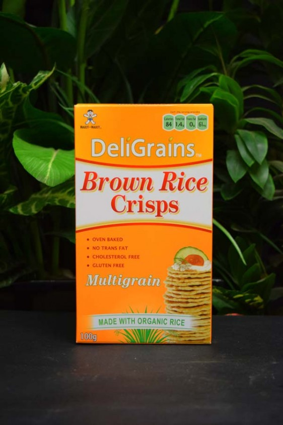 OOS G/F Brown Rice Crisps (Multigrain) 100g