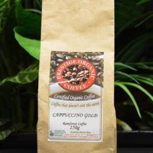 ORG Cappuccino Ground Coffee 250g