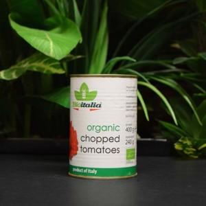 OOS Bioitalia Organic Chopped Tomatoes 400g