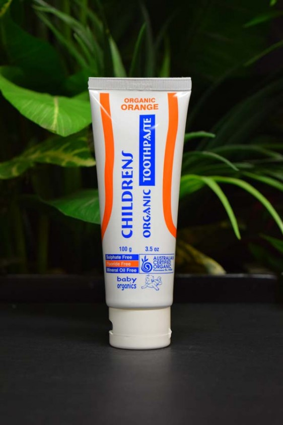 ORG Children's Organic Orange Toothpaste 100g