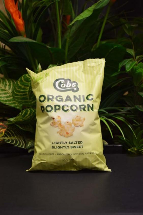 ORG G/Free Cobs Popcorn 120g (Slightly Sweet)