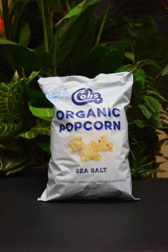 ORG G/Free Cobs Popcorn 80g (Sea Salt)