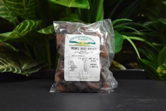 ORG Sun-Dried Apricots 250g - Sulphur Free