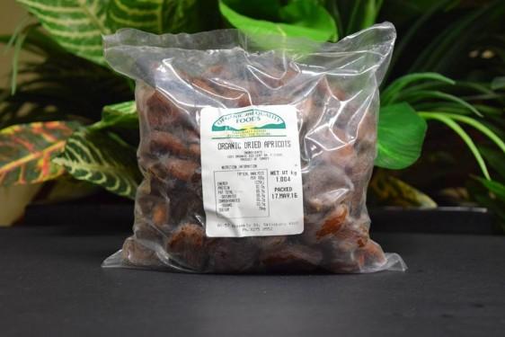 ORG Sun-Dried Apricots 1kg - Sulphur Free