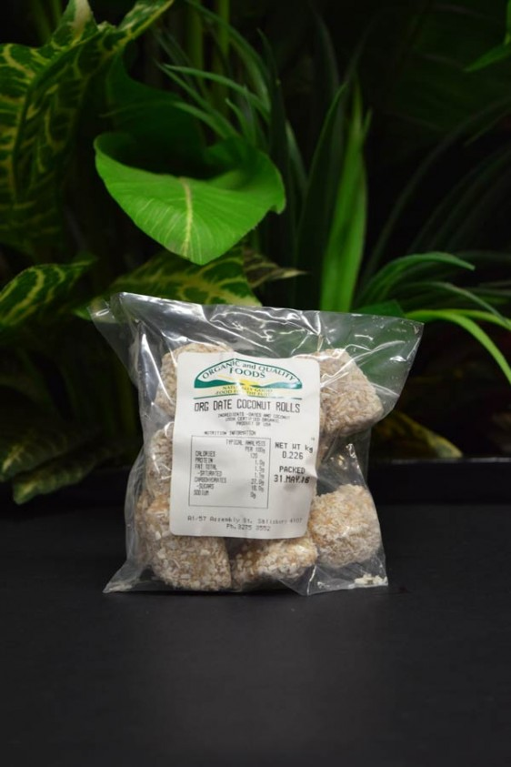 OOS Date and Coconut Rolls 200g