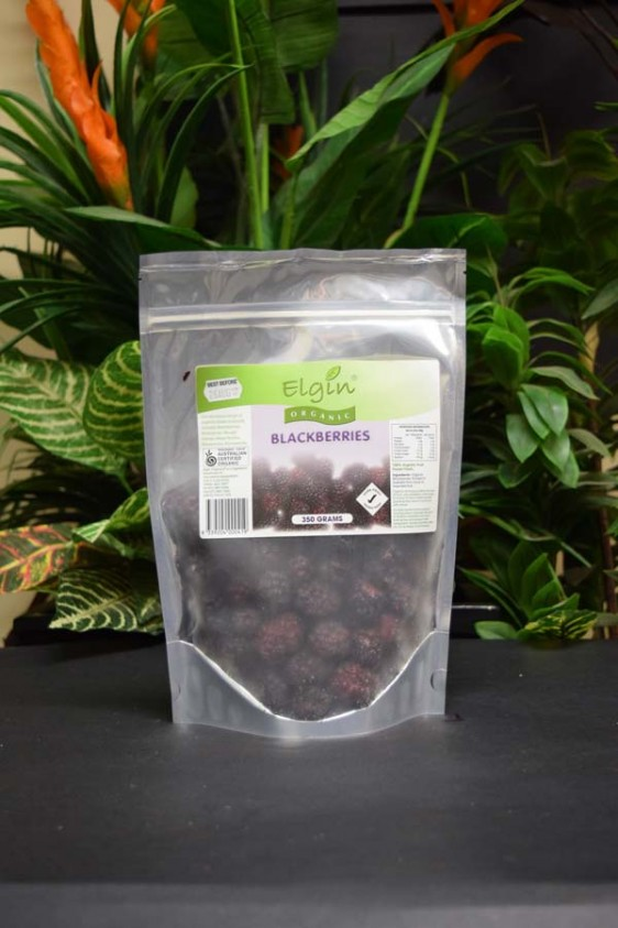 ORG Organic Frozen Blackberries 350g