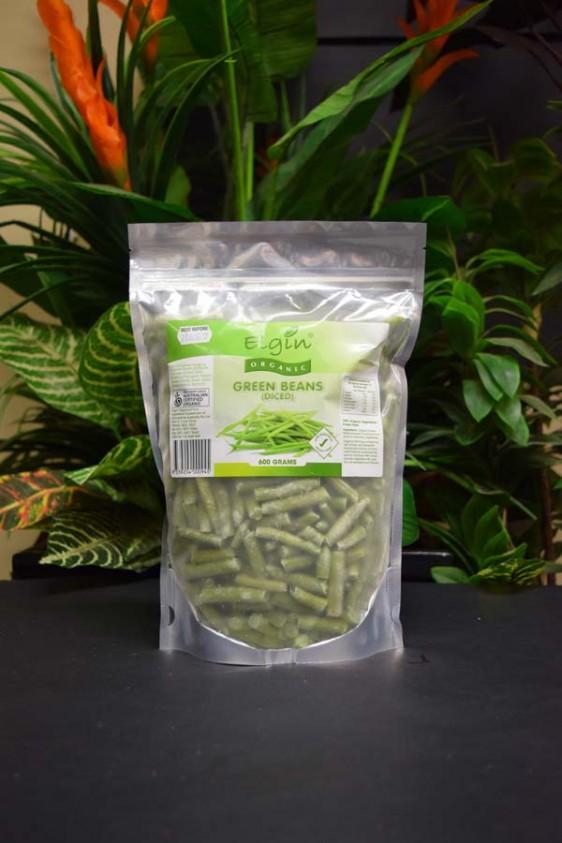 ORG Organic Frozen Green Beans (Diced) 600g