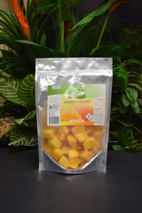 ORG Organic Frozen Mango Halves 350g