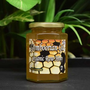 UO Goomboorian Gold Organic Raw Honey 500g