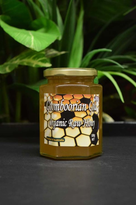 UO Goomboorian Gold Organic Raw Honey 500g