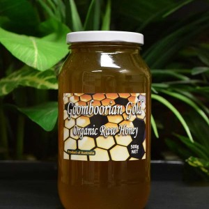 UO Goomboorian Gold Organic Raw Honey 1kg