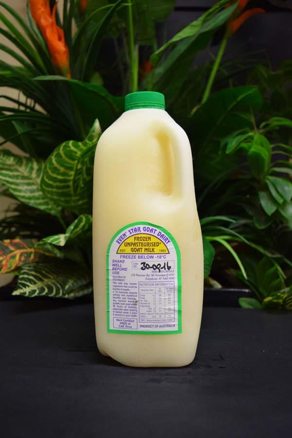 Frozen Goats Milk 2lt