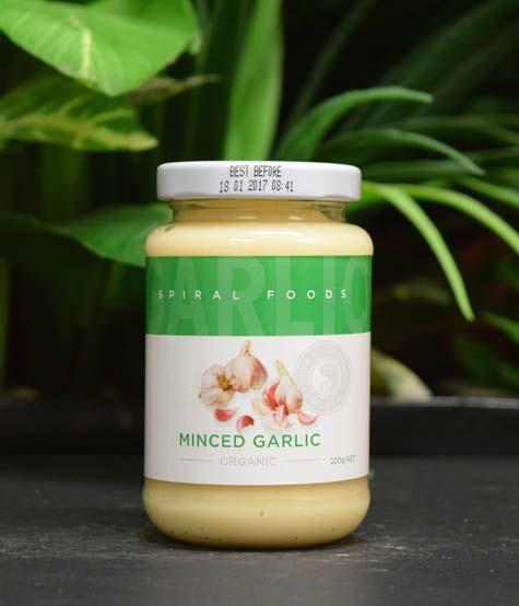ORG Minced Garlic 220g