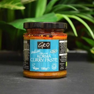 OOS Organic Indian Korma Curry Paste 180g