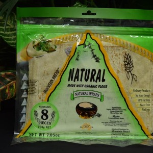 UO Natural Wheat Mtn Flat Bread 200g