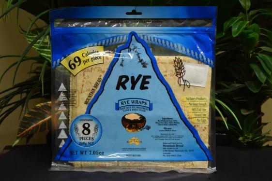 Rye Mtn Flat Bread 200g
