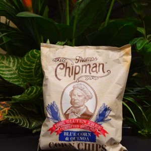 ORG G/F Chipman Corn Chips Blue Corn and Quinoa 200g