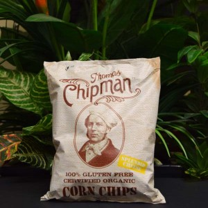 ORG G/F Chipman Corn Chips with Cheese 230g