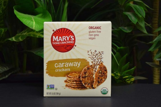 OOS Caraway Mary's Gone Crackers 184g