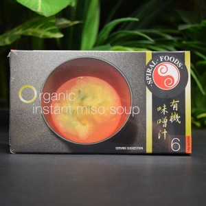 OOS Organic Instant Miso Soup (6x10g)