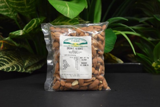 ORG Almonds 200g