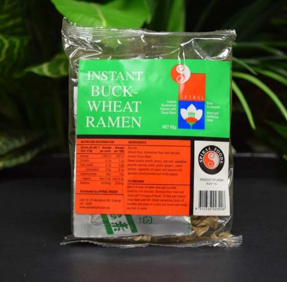 Noodles (inst.) Buckwheat Ramen 88g
