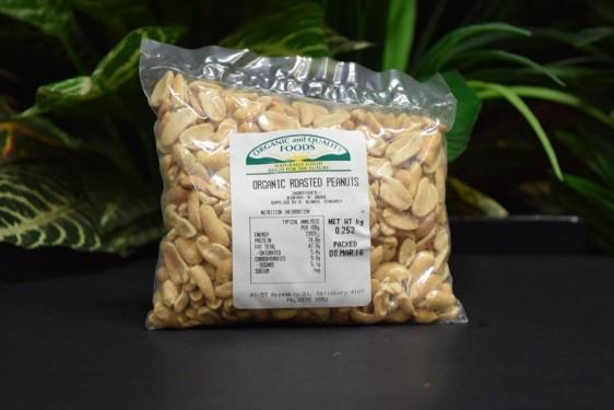 ORG Roasted Peanuts 250g