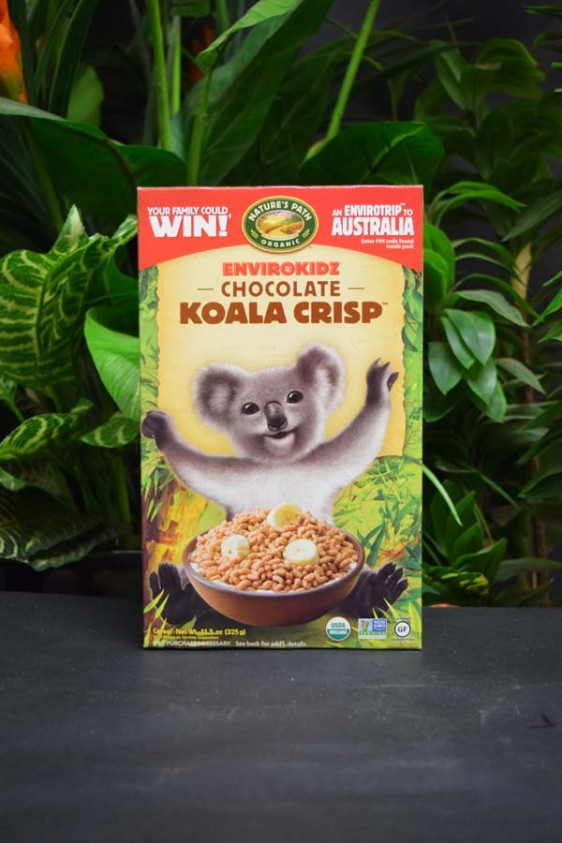 OOS Envirokidz Organic Chocolate Koala Crisps Cereal 325g