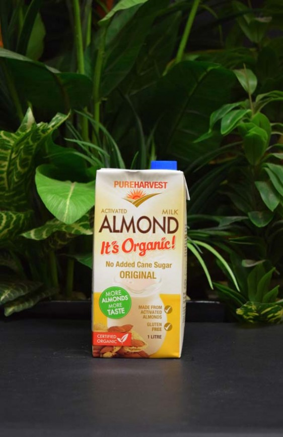 *ORG Pureharvest Activated Almond Milk Original 1lt