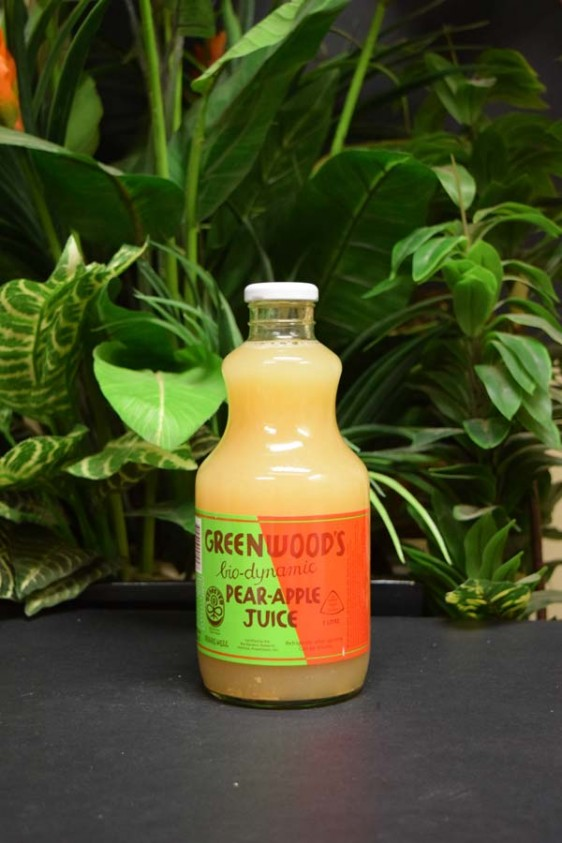 ORG BD Pear/Apple Juice 1lt (Greenwoods)
