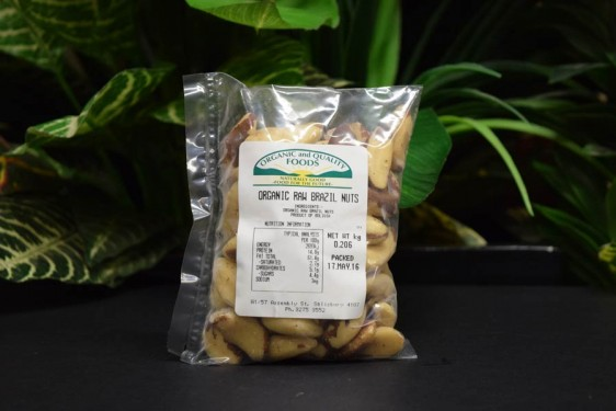OOS Brazil Nuts Raw 200g