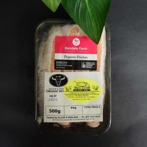 ORG Chicken Sausages 500g