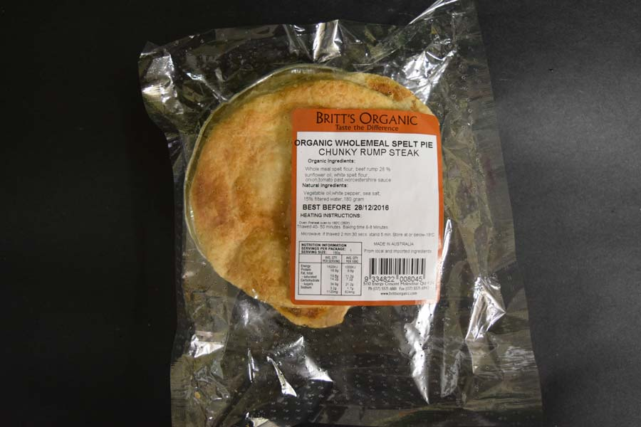 UO Chunky Spelt Steak Pie 180g