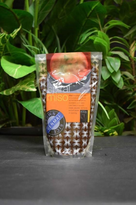 ORG Unpast. Brown Rice Miso 400g