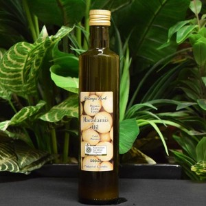 ORG Extra Virgin C/Pressed Macadamia Oil 500ml