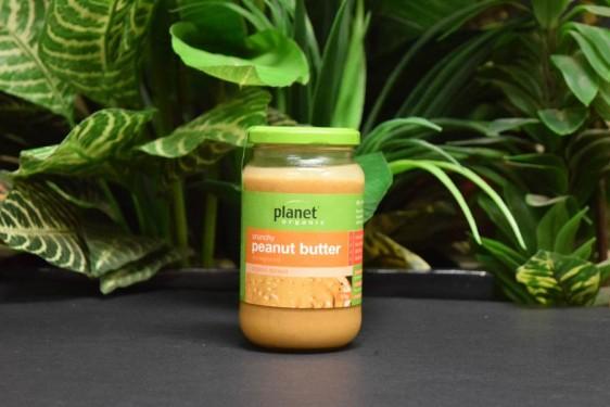 ORG Planet Crunchy Organic Peanut Butter 375g