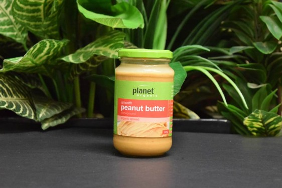 ORG Planet Smooth Organic Peanut Butter 375g