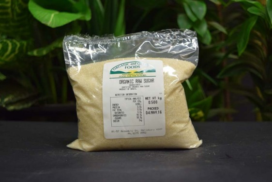 ORG Raw Sugar 500g