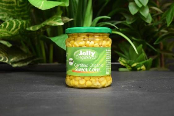 OOS Sweet Corn 330g in glass jar