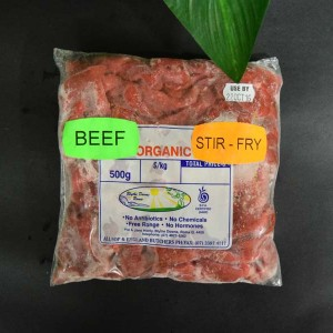 *ORG Stir-Fry Steak 500g