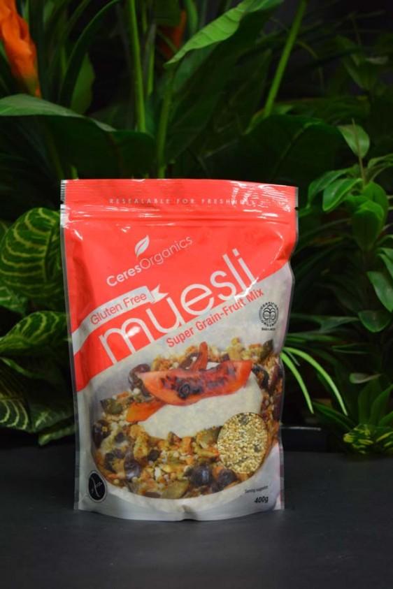OOS G/F Org Super Grain-Fruit Mix Muesli 400g