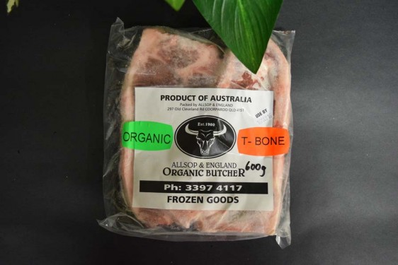 *ORG T-Bone Steak (per kg)