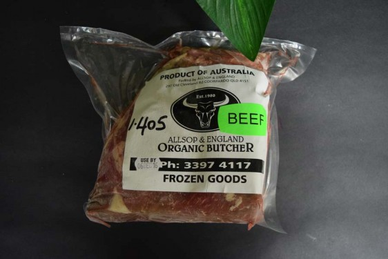 ORG Roast Topside (per kg)