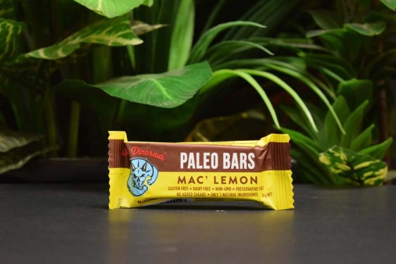 Blue Dinosaur Paleo Bar Mac' Lemon 45g
