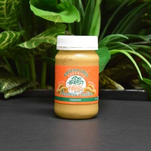 ORG Greenacres Crunchy Organic Peanut Butter 375g